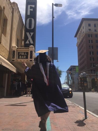 Peace out, grad school!